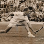 Rod Laver in Action 1956